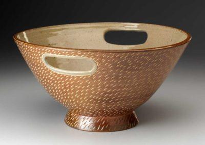 James Guggina stoneware bowl