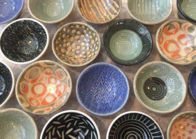 Variety of small bowls